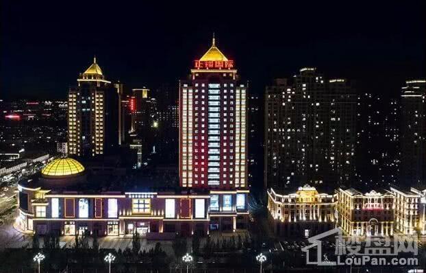 催乳农业象征电影城市的作为银行,浦发,金谷,华夏等金融林立商圈《大师财富》图片