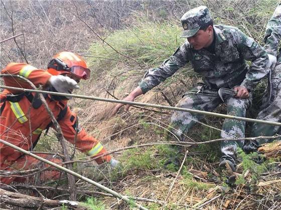木里省森林火灾30人遇难村民手机留存遇难者生前画面