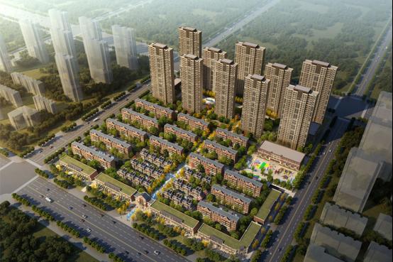 万锦红树湾项目规划鸟瞰图
