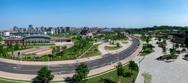 沈阳浑南新区实景图