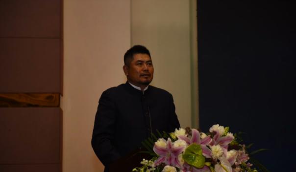 天丰成国际股份有限公司执行董事、地产总裁田宏阁发言