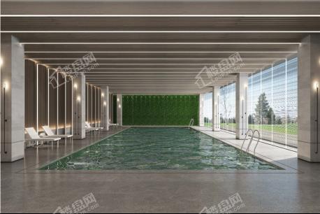 中海半山华府约2000平泳池健身会馆实景