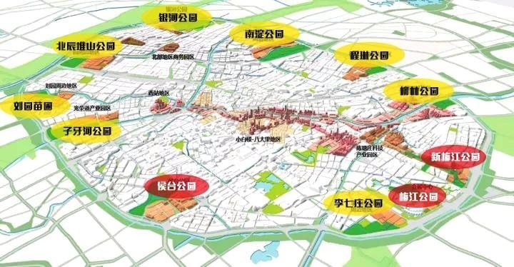 天津大型公园配套