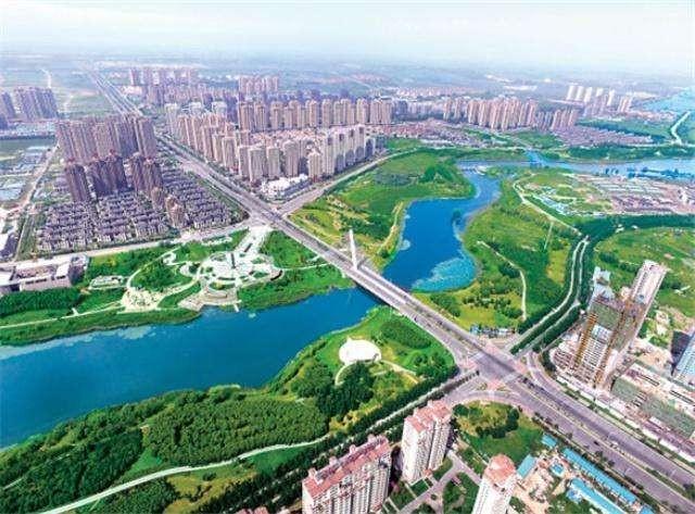 沈北新区交通发展实景图