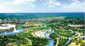 沈北新区整体发展鸟瞰图