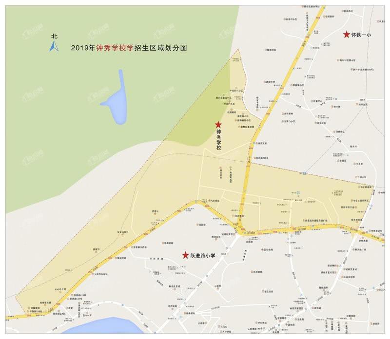 怀化钟秀学校招生区域