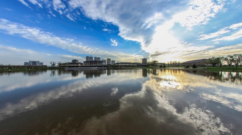 黄河龙城实景