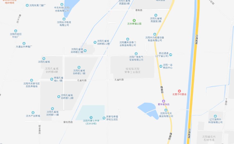 孔雀城·新京学府区位
