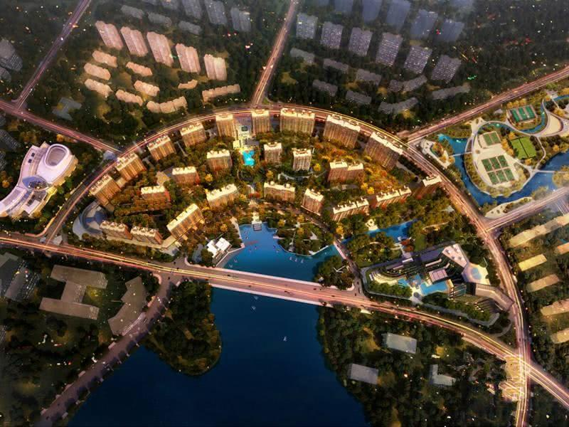 中国住宅效果图