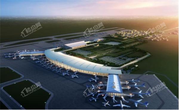 桃仙机场鸟瞰图