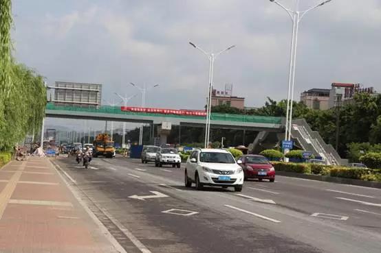 梅界中路主体道路通车 上冲片区内部路网结构更为健全