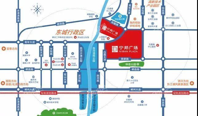 郴州市区地图全图放大
