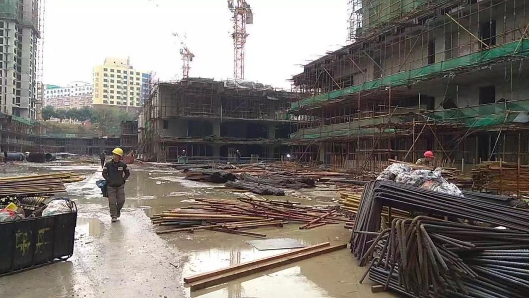 颐盛壹号公馆项目现场施工实景图