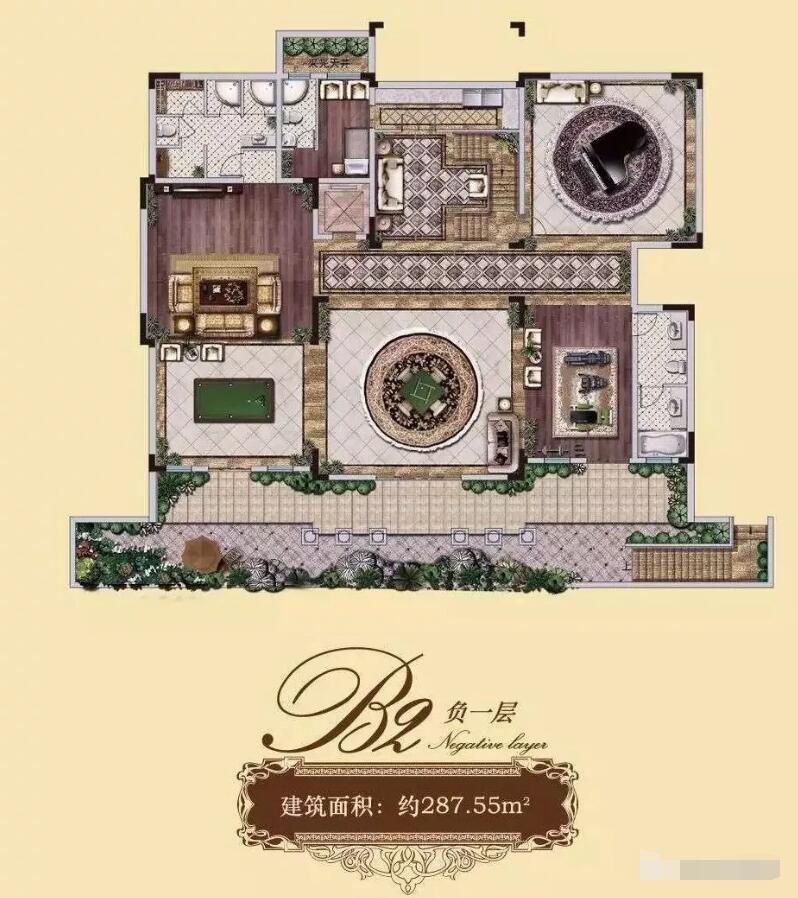 南京通宇林景象山墅院724.31㎡独栋户型图