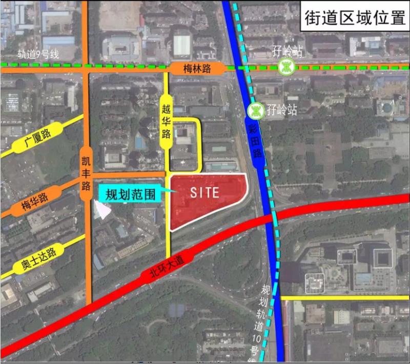 梅林街道越华工业区城市更新项目获批
