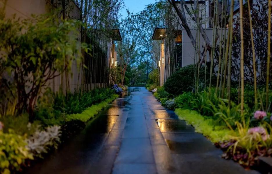 南京仁恒凤凰山居别墅-用庭院还原别墅生活的本质