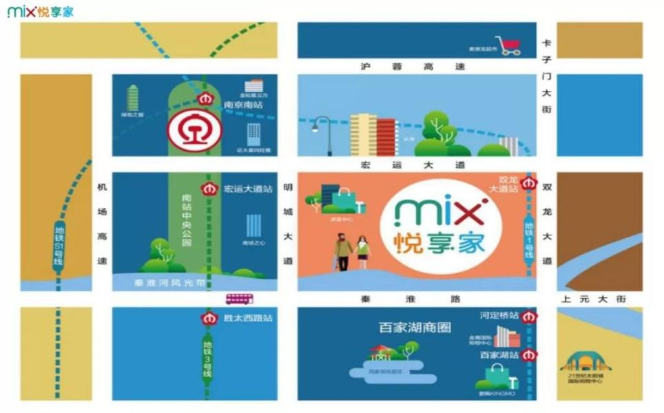 Mix悦享家周边发展怎么样?Mix悦享家板块规划如何?