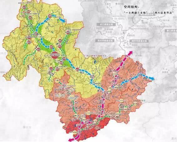 市域总体规划布局图