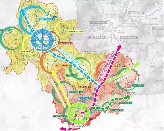 清远市功能特色规划图