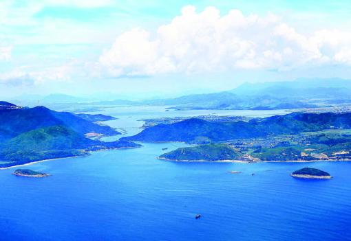 惠东县考洲洋出海口