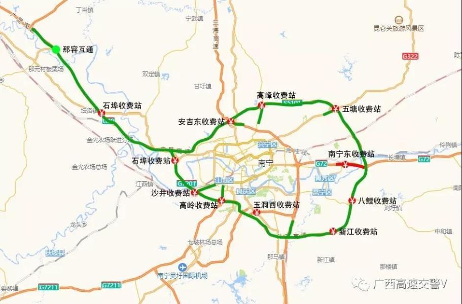 带你成功避堵,广西2020年春运
