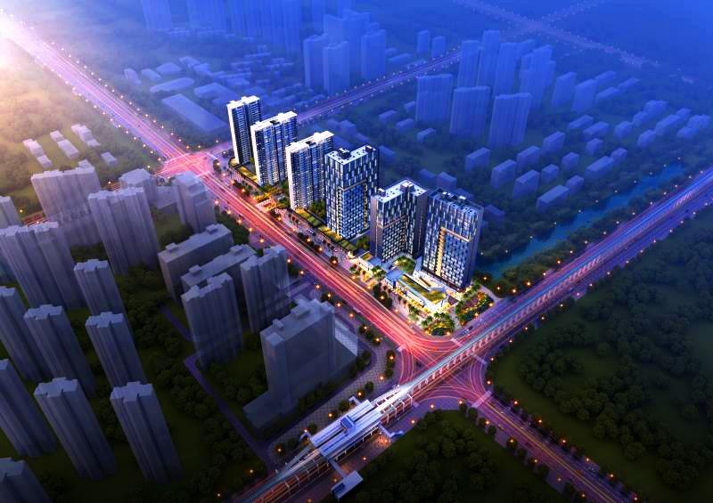 海伦广场,新力城,楼盘对比,楼盘PK,九龙湖刚需