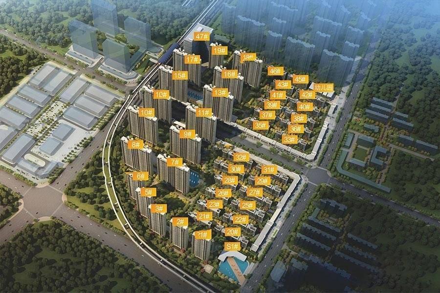 鸿海城,新力城,鸿海城和新力城哪个楼盘好,鸿海城PK新力城
