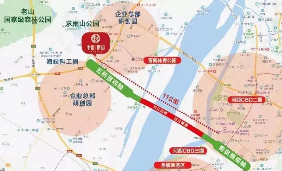 南京中海原山项目位置怎么样?南京中海原山地板块配套发展