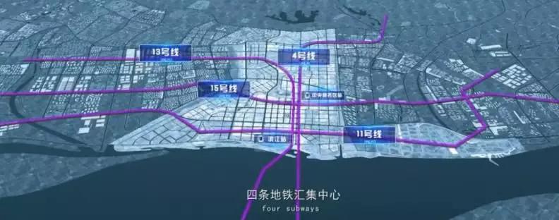 南京扬子江金茂悦领寓A5交通便利吗?领寓A5附近交通规划